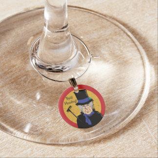 Marcador Para Taças De Vinho Ebenezer Scrooge