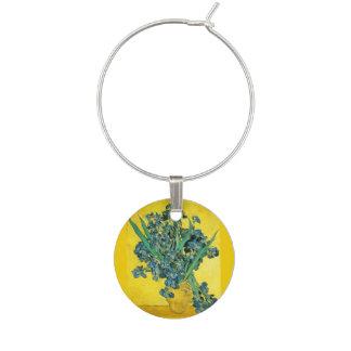 Marcador Para Taças De Vinho Íris de Van Gogh