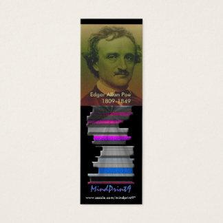 Marcador - ponto de entrada cartão de visitas mini
