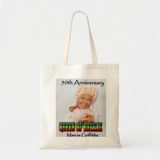 Marcia Griffiths o aniversário da reggae Sacola Tote Budget