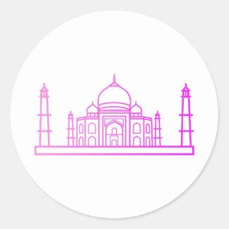 Marco - a etiqueta de Taj Mahal