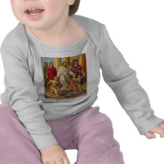 Março do elogio das crianças tshirt