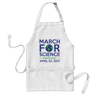Março para a ciência avental
