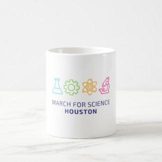 Março para a ciência - caneca de Houston