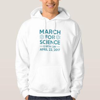 Março para a ciência moletom