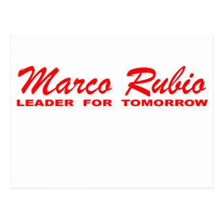 Marco Rubio: Líder para amanhã Cartão Postal