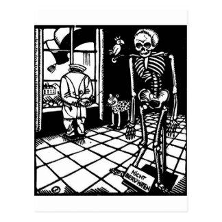 Marços da morte de Totentanz pelo cartão