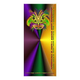 Mardi-Gras-Mask-The-Queen-V-2 10.16 X 22.86cm Panfleto