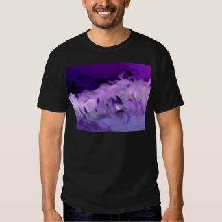 Maremoto abstrato camiseta