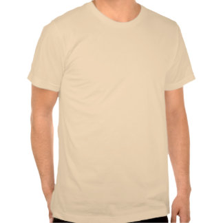 Maremoto dividido abstrato do ouro t-shirt