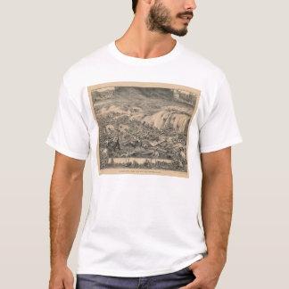Maremoto terrível do golfo da calamidade de camiseta