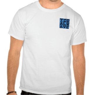 Maremoto, tsunami violento t-shirts