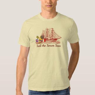 Mares da vela sete - t-shirt