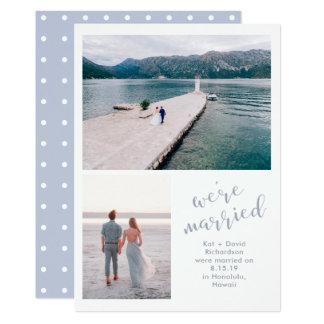 Mares tranquilos | anúncio do casamento de duas