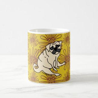 Margarida a caneca de café do Pug