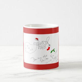 Margarida a caneca do Natal do tzu de Shih