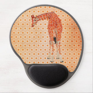 Margarida ambarina Mousepad do girafa Mouse Pad De Gel