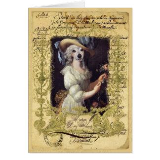 Margarida Antoinette Cartão Comemorativo