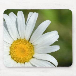Margarida deslocada Mousepad floral