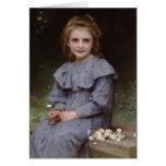 Margaridas - William-Adolphe Bouguereau Cartão Comemorativo