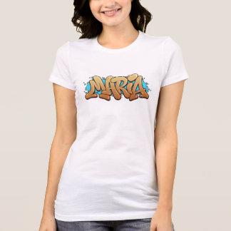 Maria Grafitti espécie nome - Camiseta