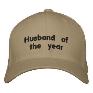 Marido do ano boné bordado