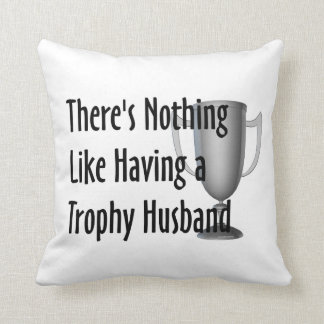 Marido do troféu do T Almofada