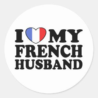 Marido francês adesivo