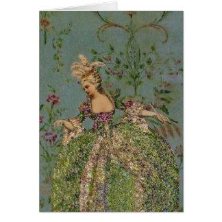 Marie Antoinette - cartão