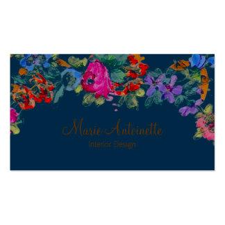 Marie Antoinette em cartões de visitas do das fl