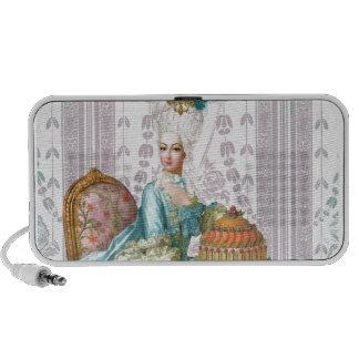 Marie Antoinette no Aqua Caixinha De Som De Viagem