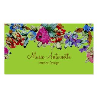 Marie Antoinette no cartão de visita do ~ das