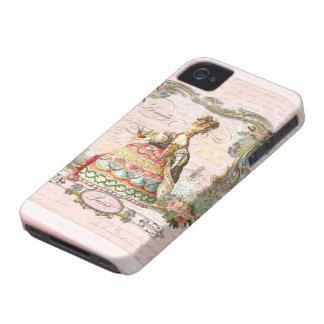 Marie Antoinette no rosa Capinhas iPhone 4