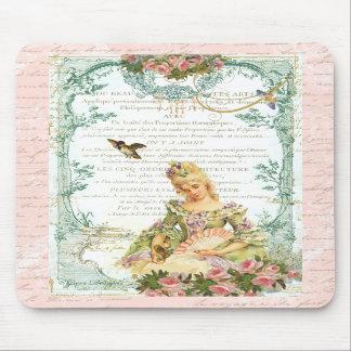 Marie Antoinette & pardal Mouse Pad