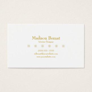 Marie - Goldenrod amarelo Cartão De Visitas