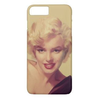 Marilyn no preto capa iPhone 8 plus/7 plus