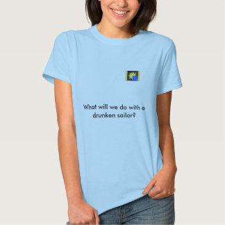 Marinheiro bêbedo camiseta