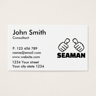 Marinheiro Cartão De Visitas