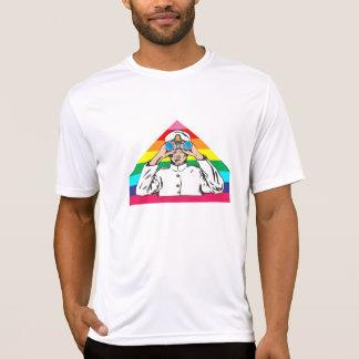 Marinheiro do arco-íris camisetas