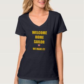 Marinheiro home bem-vindo camiseta
