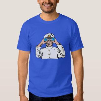 Marinheiro no relógio tshirts