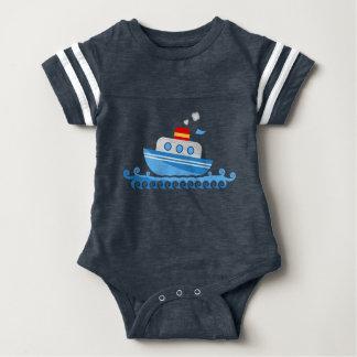 Marinheiro pequeno body para bebê