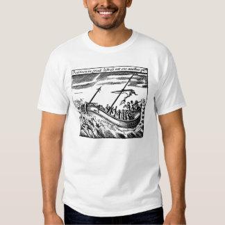 Marinheiros na aflição camiseta
