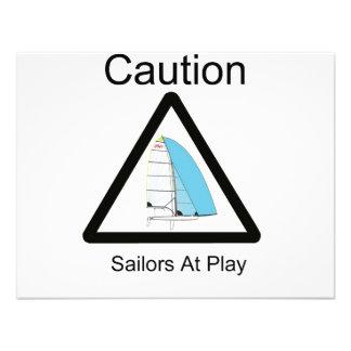 Marinheiros no jogo convites personalizado
