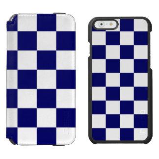 Marinho Checkered e branco