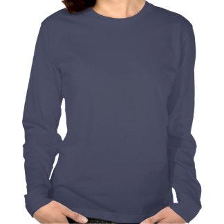 Marinho da camisa de Moroni W do anjo T-shirts