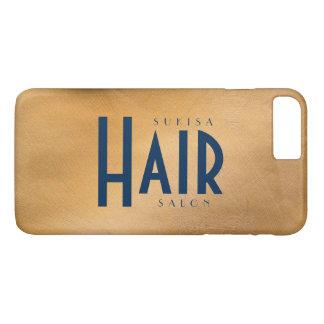 Marinho de cobre de MetallicAnd do cabeleireiro Capa iPhone 7 Plus
