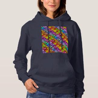 Marinho do Hoodie da série da foto da arte da Camisetas