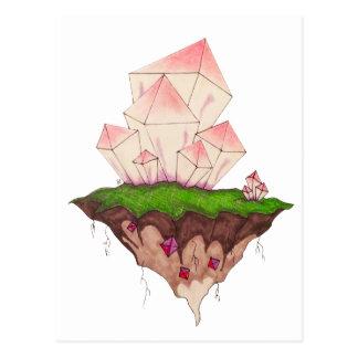 Mario de cristal cartão postal