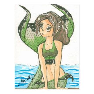 Maritza o cartão da sereia
